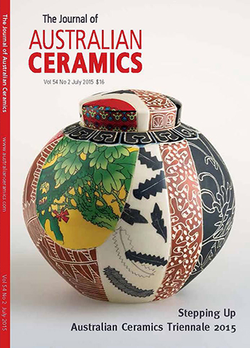 The Journal of Australian Ceramics Vol 54 No 2