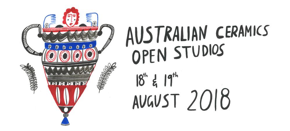 Australian Ceramics Open Studios 2018